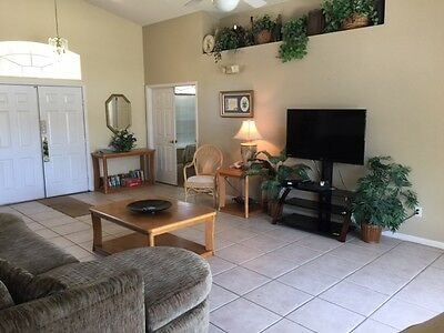 JUNE 17th TO JULY 1st 2019 - FOUR BEDROOM ORLANDO FLORIDA VILLA IN DAVENPORT