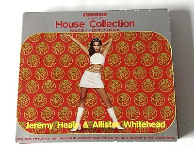 Fantazia House Col 4 : Various Artists - Limited Edition CD Healy + Whitehead