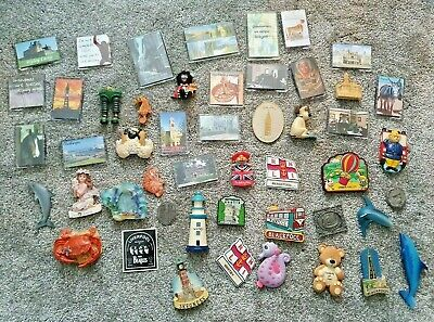 Lot of 49 Novelty FRIDGE Magnets including WALLACE & GROMIT
