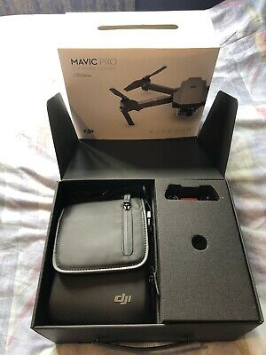 DJI Mavic Pro Platinum Fly More Combo Excellent condition Plus Protective Cover