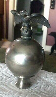 Vintage Cast Metal AMERICAN EAGLE  Flagpole TOPPER*  Finial