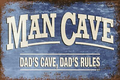 man cave bar Beware of the Wife Vintage Retro style Metal Sign garage gift