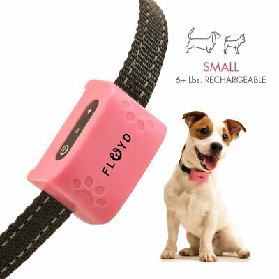 Anti Bark No Barking Shock Control Rechargeable Small Dog Pet Bark Collars  A91