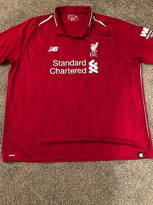 Liverpool FC Home Shirt 2018/19. New Balance Mens 3XL Virgil 4