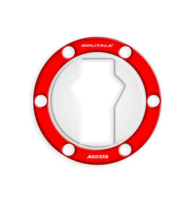 FUEL CAP Schutz Tankdeckel MV AGUSTA brutal / DRAGSTER GP-510(M) (Red)