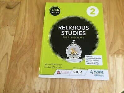 Ocr Religious Studies For A Level Year 2 Student Book 2017 Activities Questions