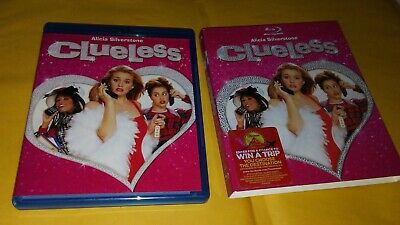 Clueless (Blu-ray Disc, 2012)  Includes Very Rare OOP Slipcover
