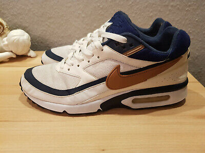 new concept 98f60 4db4b Nike Air Max BW blau weiss gold Gr.44