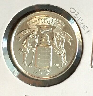 CANADA 2017 STANLEY CUP 125TH Anniversary Quarter 25-Cent from a bank roll