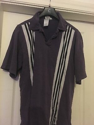 Vintage Purple Adidas Top Medium