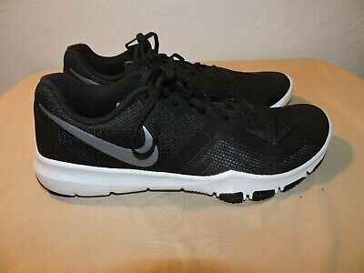 7bb48a95efdd MEN S BLACK GREY NIKE Flex Control II Cross Trainer Shoes Size 13 ...