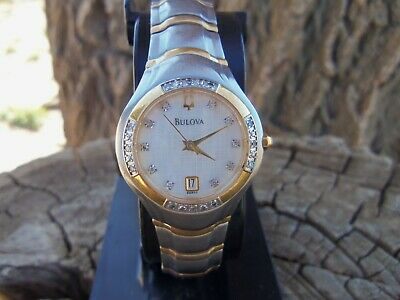 Women's Two Toned A3 Bulova Watch All Original New Energizer Battery No Reserve