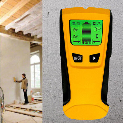 TH-210 3 in 1 LCD Stud Wood Wall Center Finder Metal and AC Live Wire Detector