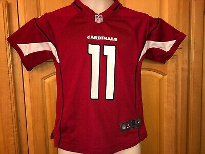 EUC NFL NIKE ARIZONA CARDINALS #11 LARRY FITZGERALD Home Jersey Boys