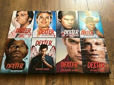 Dexter - The Complete Series - Seasons 1 - 8 (DVD) Mint Condition