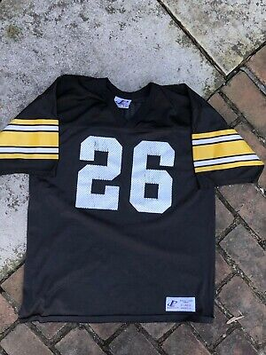 5b729c65968 VINTAGE ROD WOODSON Pittsburgh Steelers jersey Champion Size 44 ...