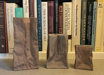 Rosenthal Studio Line Germany Brown Paper Bag Set by Tapio Wirkkala