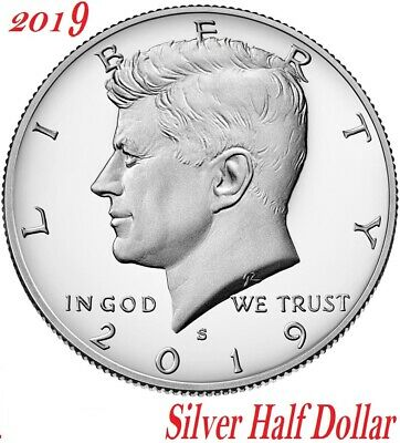 2019 S Proof Kennedy Half Dollar SILVER President Gem Deep Cameo