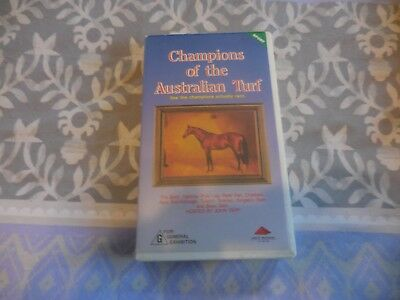 VHS Champions of the Australian Turf hosted by John Tapp