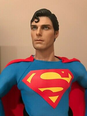 Superman Cristopher Reeve 1978 1/6 scale complete customized figure NO Hot Toys