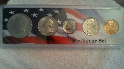 1985 D  Us Mint  Uncirculated  Set In Nice Birthyear Case!!!!