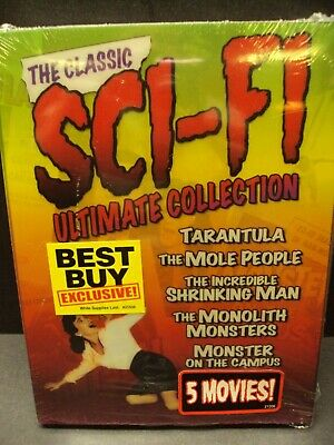 The Classic Sci-Fi Ultimate Collection - Rare 3-Dvd - Mole People - Tarantula!