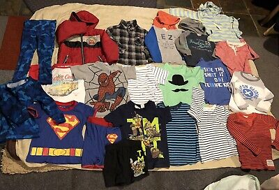 Boys Sz 4 Bulk Coat Hoodies Thermals & More Country Road Cotton On Tilt Etc