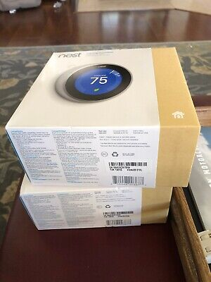 Nest Learning Thermostat - 3rd Generation - Stainless Steel - T3007ES