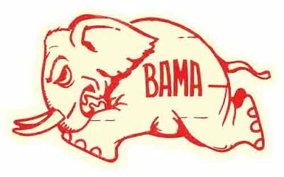 University Of Alabama  College Vintage Looking  Travel Decal Sticker  Roll Tide
