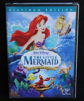 BRAND NEW The Little Mermaid DVD 2006 Special 2-Disc Set Platinum Edition Disney