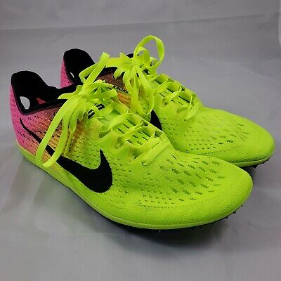 official photos 091d2 0a969 New Nike Zoom Matumbo 3 OC Track Spikes Shoes Volt Pink 882014-999 Mens Size