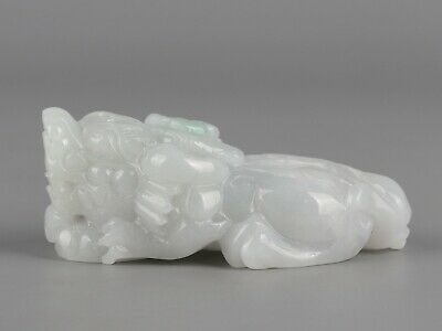 Chinese Exquisite Hand carved brave troops Carving jadeite jade Pendant