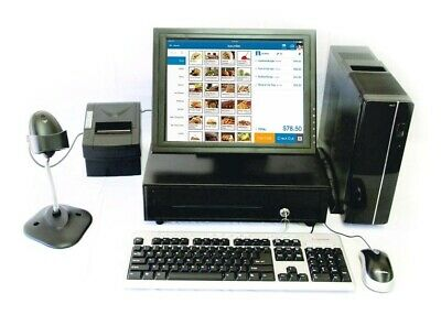 """Point of Sale System with 15"""" Touch Screen monitor. Add Your Software"""