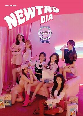 DIA - NEWTRO (5th Mini Album) CD+Photobook+2Photocards+Folded Poster+Tracking no