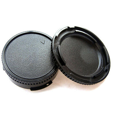Plastic Body Cover + Lens Rear Cap for CANON FD Camera and Lens  tect SELL