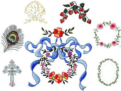 MARTHA PULLEN Embroidery Card NEW! - for Artista 165 170 180 200 700s Deco 300s