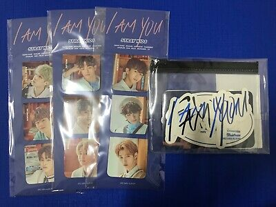 Stray Kids - Bookmarks & Stickers Set -Unveil op.3 Showcase Official Merchandise