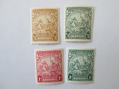 Barbados lot mint stamps.No.1
