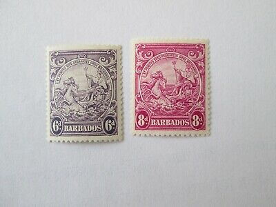Barbados lot mint stamps No.4