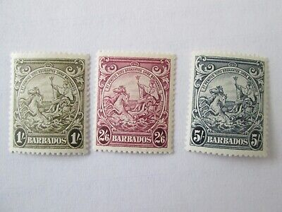 Barbados lot mint stamps No.5