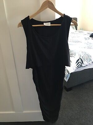 Pea In A Pod Black Maternity/Nursing Dress