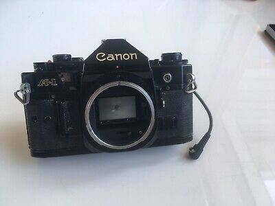 Canon A-1 Body Only 35mm Film Camera