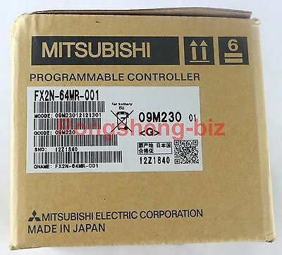 1PC MITSUBISHI Melsec FX2N-64MR FX2N-64MR-001 New in Box  #RS8