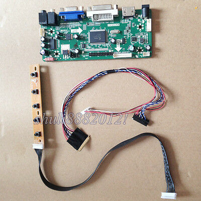 LCD LED controller board kit HDMI VGA CVBS for LG LP150X05 B2 C2 1024X768 15.0/""