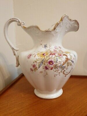 Large Antique SF & Co Pitcher