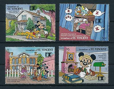[22588] Grenadines of St. Vincent 1992 Disney Mickey Mouse Chicago USA MNH