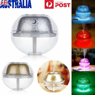 500ml 7 Color LED Ultrasonic Aroma Aromatherapy Diffuser Air Humidifier Purifier