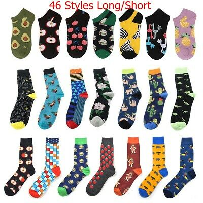 Cool Food Animal Hip Hop Socks Funny Street Skate Socks Men Women Harajuku Socks