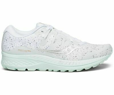 Saucony Ride ISO Womens Shoes White Noise