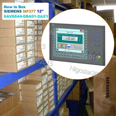 1PC New in Box SIEMENS MULTI PANEL SIMATIC MP377 12'' KEY 6AV6644-0BA01-2AX1